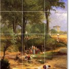 Inness Country Wall Wall Shower Murals House Design Construction