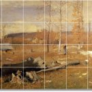 Inness Landscapes Living Room Tile Mural Interior Ideas Remodel
