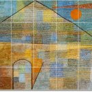 Klee Abstract Mural Room Floor Dining Decorating Idea Interior