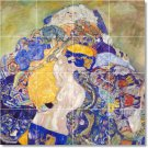 Klimt Abstract Tiles Shower Wall Mural House Traditional Remodel