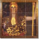 Klimt Mythology Mural Bathroom Floor Remodeling Decorate Home