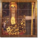 Klimt Mythology Mural Floor Bathroom Decorate Home Remodeling