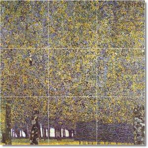 Klimt Country Mural Kitchen Backsplash Wall Remodel Commercial