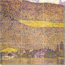 Klimt Country Mural Bathroom Shower Tile Ideas Remodeling Home