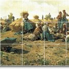 Knight Landscapes Living Tile Mural Room Ideas Interior Remodel