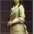 Kramskoy Women Mural Bathroom Tile Shower House Remodeling Ideas