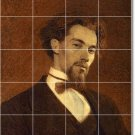 Kramskoy Men Dining Mural Tile Room Construction House Decorate