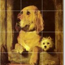 Landseer Animals Tiles Wall Room Mural Home Traditional Decorate