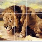 Landseer Animals Tiles Mural Room Wall Decorate Traditional Home