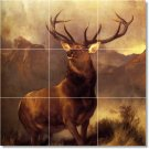 Landseer Animals Tiles Mural Wall Room Decorate Home Traditional