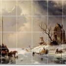 Leickert Landscapes Mural Tiles Room Floor House Decorating Idea
