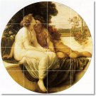 Leighton Men Women Mural Tile Shower Decorate Home Traditional