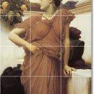 Leighton Women Room Tile Mural Design Remodeling Idea Commercial