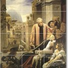 Leighton Historical Tile Wall Shower Murals Decor Decor Interior