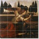 Da Vinci Angels Tile Wall Room Murals Modern House Decorating