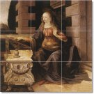 Da Vinci Women Wall Mural Room Tile Decorating House Traditional