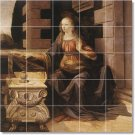 Da Vinci Women Bedroom Tile Mural Contemporary Renovate Interior
