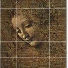 Da Vinci Illustration Floor Tile Bedroom Remodeling Home Modern