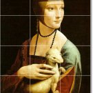 Da Vinci Women Tile Bedroom Mural Renovate Contemporary Interior