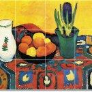 Macke Fruit Vegetables Floor Tiles Dining Room Commercial Art