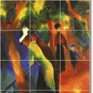 Macke Country Floor Mural Tiles Room Decorate House Traditional