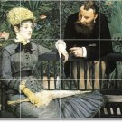 Manet Men Women Wall Room Murals Tile Decorating House Modern