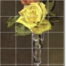 Manet Flowers Room Wall Mural Tiles Decorating Residential Idea