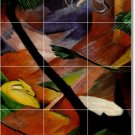Marc Abstract Room Mural Tiles Wall Idea Decorating Residential