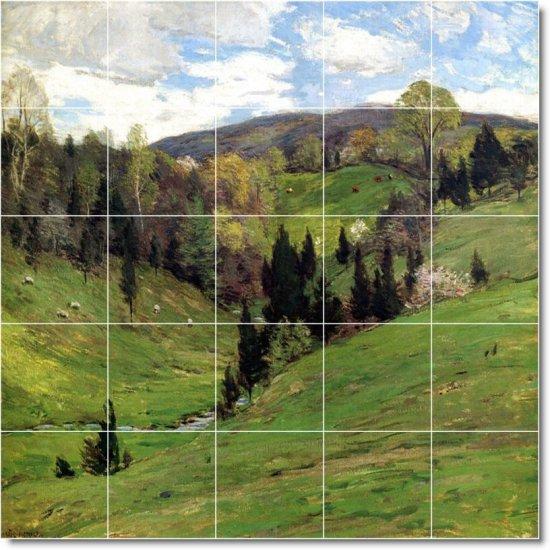 Metcalf Landscapes Tile Backsplash Kitchen Mural Remodel Ideas