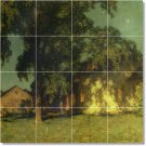 Metcalf Country Floor Mural Room Tiles Remodeling Design Home