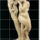 Michelangelo Sculpture Tile Living Murals Room Remodel Design