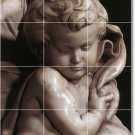 Michelangelo Sculpture Kitchen Tile Mural Modern Floor Design