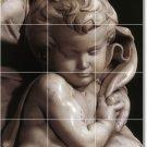 Michelangelo Sculpture Kitchen Tile Mural Modern Floor Design