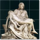 Michelangelo Sculpture Tile Mural Kitchen Floor Design Modern