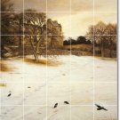 Millais Country Room Wall Mural Tiles Modern Renovations Home