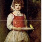 Millais Children Tile Wall Mural Kitchen Backsplash Floor Modern