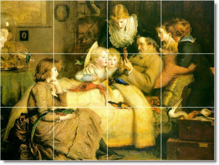 Millais People Room Wall Mural Tiles Decorating Residential Idea