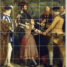Millais People Room Wall Tiles Mural Decorating Idea Residential