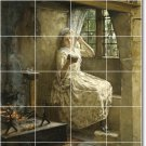 Millet Women Murals Wall Room Dining Tile House Remodeling Idea