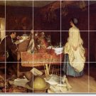 Millet Women Murals Wall Tile Room Dining Remodeling Idea House