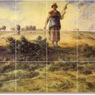 Millet Country Room Mural Tiles Wall Idea Decorating Residential