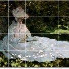 Monet Women Tile Murals Room Wall Decor Renovations House Ideas