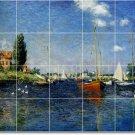 Monet Waterfront Dining Murals Tile Wall Room Ideas Construction