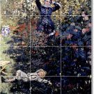 Monet Garden Room Floor Dining Mural Remodeling Ideas Interior