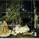 Monet Women Wall Tile Room Murals Ideas House Renovations Decor