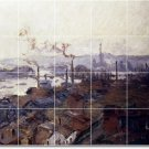 Monet Country Bathroom Mural Tiles Design Interior Renovations