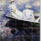 Monet Women Wall Tile Murals Room Ideas House Decor Renovations