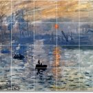 Monet Waterfront Tile Murals Wall Room Dining Ideas Remodel Home
