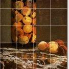Monet Fruit Vegetables Mural Tile Kitchen Design Floor Modern