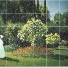 Monet Garden Kitchen Backsplash Tile Mural Commercial Renovate